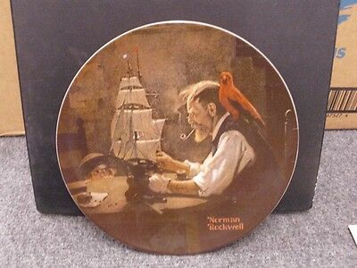 Knowles Rockwell Collector Plate The Ship Builder W COA
