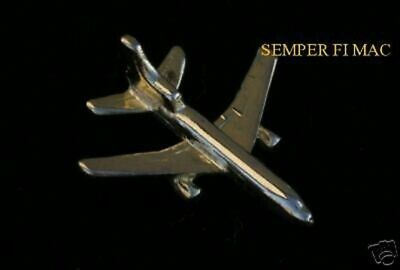 L-1011 Tri Star Lockheed Jet Gold Plated Lapel Hat Pin Airline Made In Us  Gift