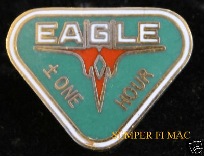 F-15 Eagle 1 Hour Hat Pin Us Air Force Hour Wow