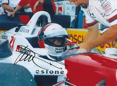 Hand Signed Gil De Ferran Photo 8x6.