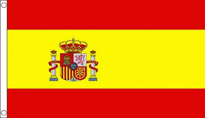3' x 2' SPAIN FLAG Spanish State Flags European Europe