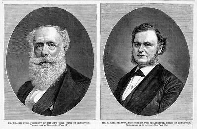 Board Of Education Presidents, New York, Philadelphia
