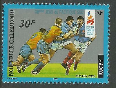RUGBY NEW CALEDONIA 2003 SP GAMES SINGLE Value MNH
