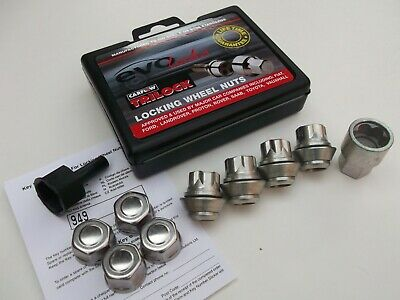Ford Fiesta MK7 Locking Wheel Nuts WN57