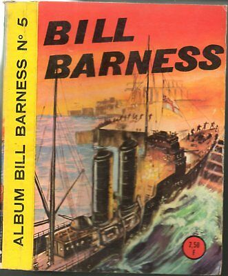 ALBUM BILL BARNESS n°5 ~ n°21-22 & ROCKY 25 EDI EUROP