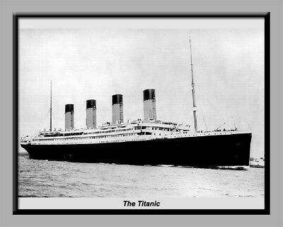 TITANIC, DIGITAL LAMINATED PRINT!