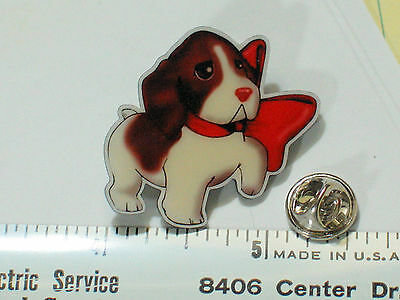 Cute Brittany Spaniel Puppy Dog Pin Badge