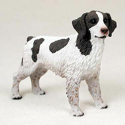 Brittany Hand Painted Dog Figurine Statue Liver