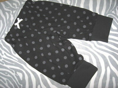 New Baby Black Grey white Spotted Leggings Trousers Gothic Rock Party Gift