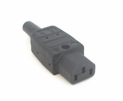IEC Connector c13 10a Martin Kaiser standard Connector for mains power cables