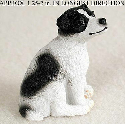 Jack Russell Terrier Mini Resin Dog Figurine Statue Hand Painted