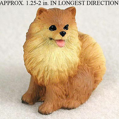 Pomeranian Mini Resin Dog Figurine