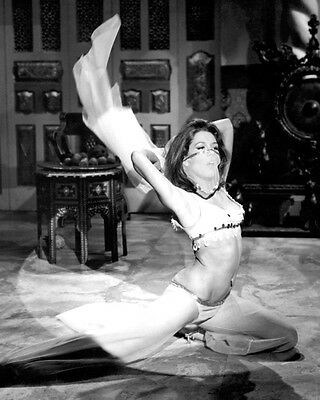 The Avengers Diana Rigg 8X10 Photo Belly Dancer Sexy