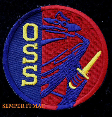 OSS PATCH Office of Strategic Services Intelligence CIA