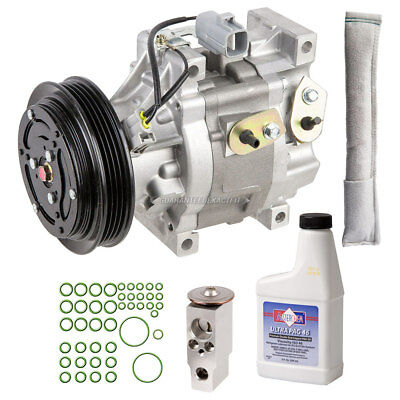 New AC Compressor & Clutch With Complete A/C Repair Kit Fits Toyota Echo