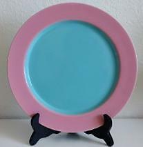 Lindt Stymeist Colorways Turquoise Pink Dinner Plate