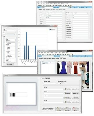 Clothing Designer Maker Factory Supply Management Inventory Tracking Software CD