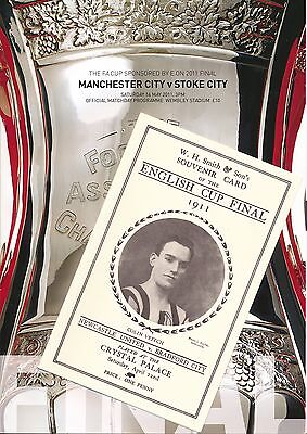 FA CUP FINAL PROGRAMME 2011: Man City v Stoke with GIFT