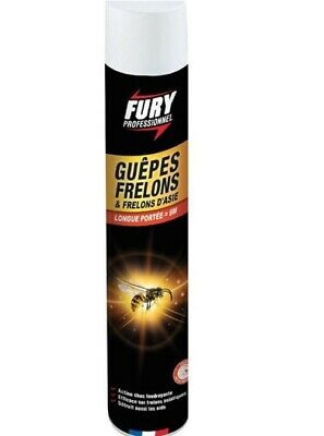 INSECTICIDE GUEPE FRELON SPECIAL NID LONGUE PORTEE 6 M KAPO 750 ml