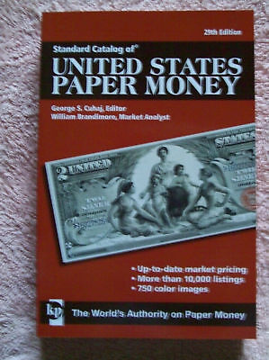 KRAUSE 2010 29th Edition UNITED STATES PAPER MONEY BOOK CATALOGUE