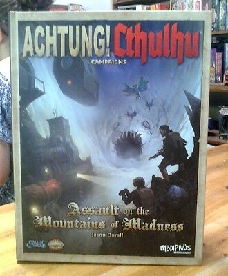 Achtung! Cthulhu Campaign Assalult on the Mountains of Madness Call of Cthulhu