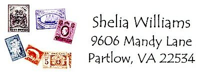 Stamps Stamp Collector Address Labels