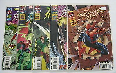 Untold Tales of Spider-Man #1 to #10 All Signed COA MARVEL COMICS LOT AMAZING