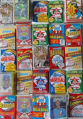 3000 Old Unopened Factory Sealed Baseball Cards In Packs
