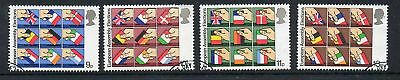 GB 1979 Euro Assembly Elections fine used set stamps