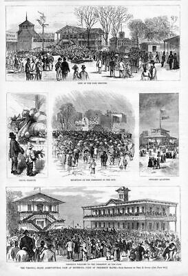 Agriculture 1877 State Fair Virginia, President Hayes