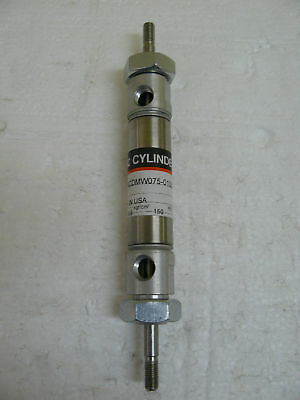 New Smc Ncdmw075-0100 Pneumatic Cylinder Double Rod