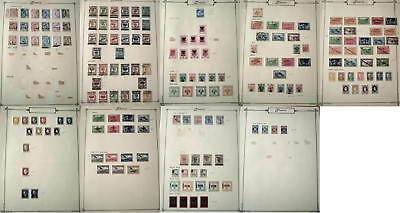 Albania RARE 1913-25 Collection On Pages, US$2,070!
