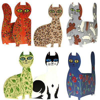 36 Contemporary Cat Greetings Cards by Helen Lang EC0058