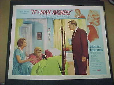 IF A MAN ANSWERS, orig LCS (Sandra Dee, Bobby Darin)