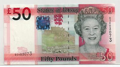 JERSEY  £50 Banknote  Replacement