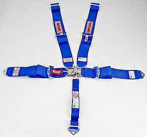 Simpson 29063BL Latch & Link System 5-Point Individual Harness55'' Lap Belt