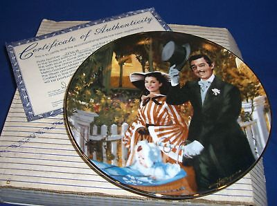Gone With Wind Golden Anniv Plate Strolling In Atlanta