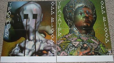Yeasayer Double-Sided BIG POSTER Odd Blood