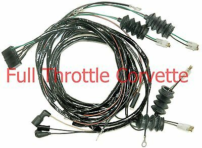 1964 Corvette Convertible Rear Body Wiring Harness Without Back-UIp Lights