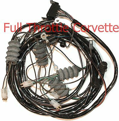 1965 Corvette Coupe Rear Body Wiring Harness Without Back-Up Lights