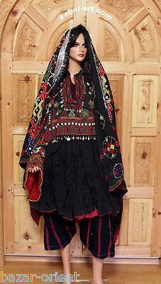 antique Pakistan Afghanistan nuristan swat Woman embroidered Dress jumlo No:2