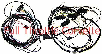 1968 Corvette Rear Lamp Body Wiring Harness NEW