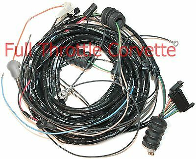 1970 1971 Corvette Rear Lamp Body Wiring Harness NEW