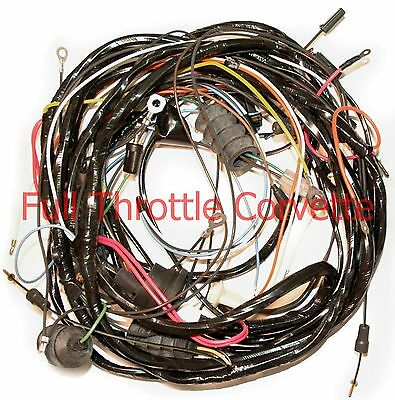 1971 Corvette Rear Lamp Body Wiring Harness w/Alarm