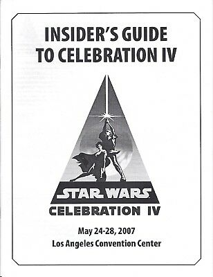 Star Wars Celebration 4 IV Guide 2007 Los Angeles
