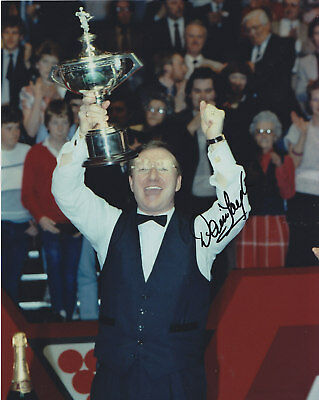 Dennis Taylor Hand Signed Photo 10x8.
