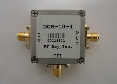 5-1000MHz 10dB Directional Coupler DCR-10-4, New, SMA