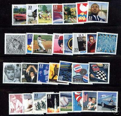 Complete Collection of Celebrate The Century 150 Stamps