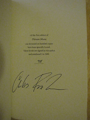 SIGNED Thirteen Moons by Charles Frazier LE #708/1600
