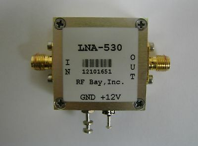 1-500MHz 30dB Low Noise Amplifier, LNA-530, New, SMA